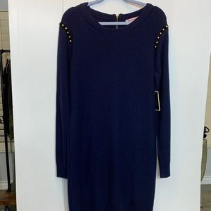 Juicy couture NWT navy blue Regal studied dress XL